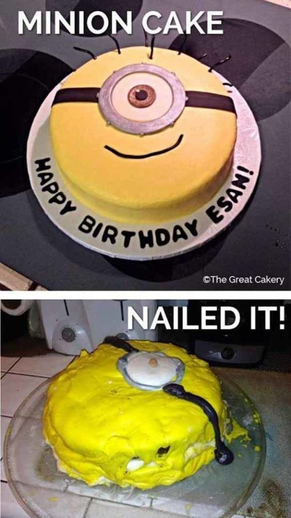 This is gonna be the best minion cake ever! The birthday boy will be so surprised!