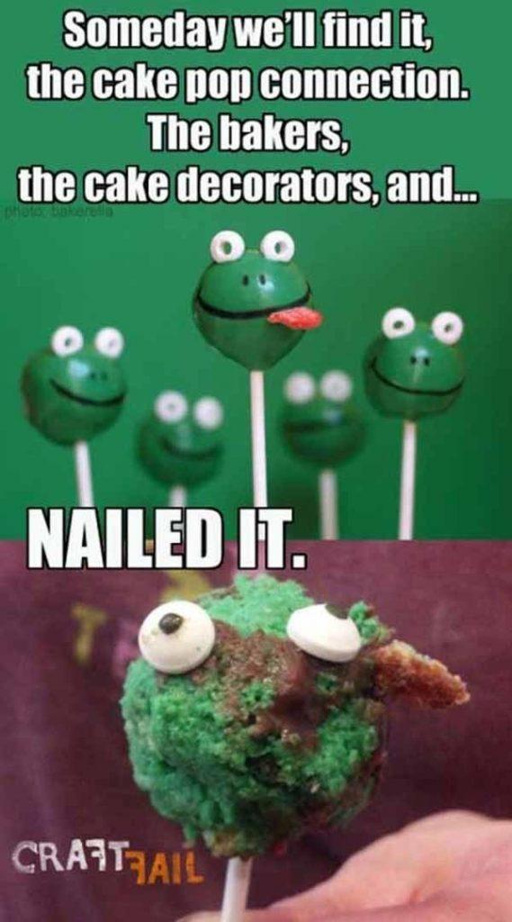 Frog pops. Piece of cake!