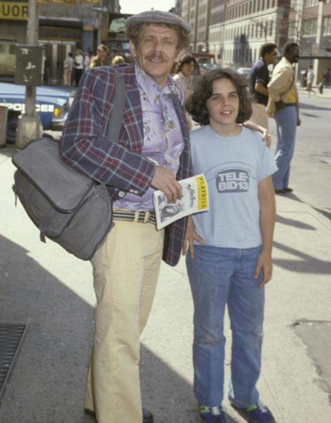 Thirteen-year-old Ben Stiller on a trip to New York with his father, Jerry.