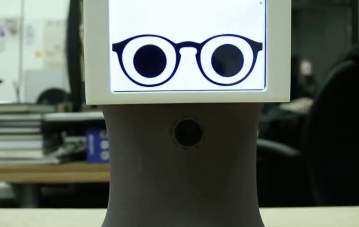 Peeqo, The Robot Who Can Show Emotion Through GIFs!
