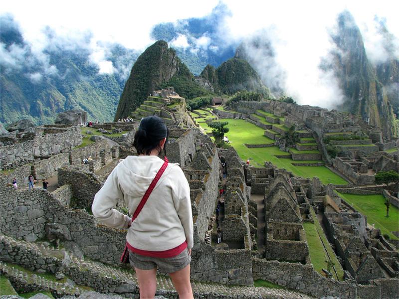 Marvel at Machu Pichu.