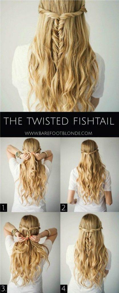 A Dreamy Fishtail Braid