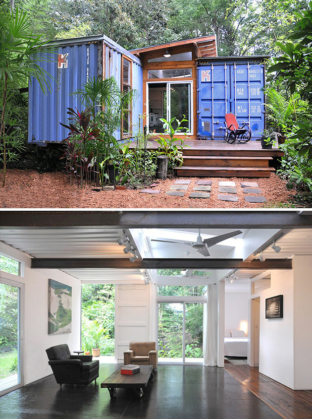 #2. Price Street Projects was commissioned to build this studio home in Savannah, Georgia.