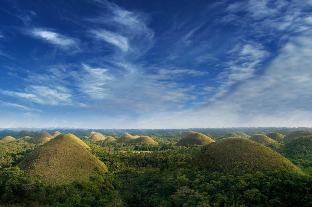 Chocolate Hills - Bohol Island, the Philippines